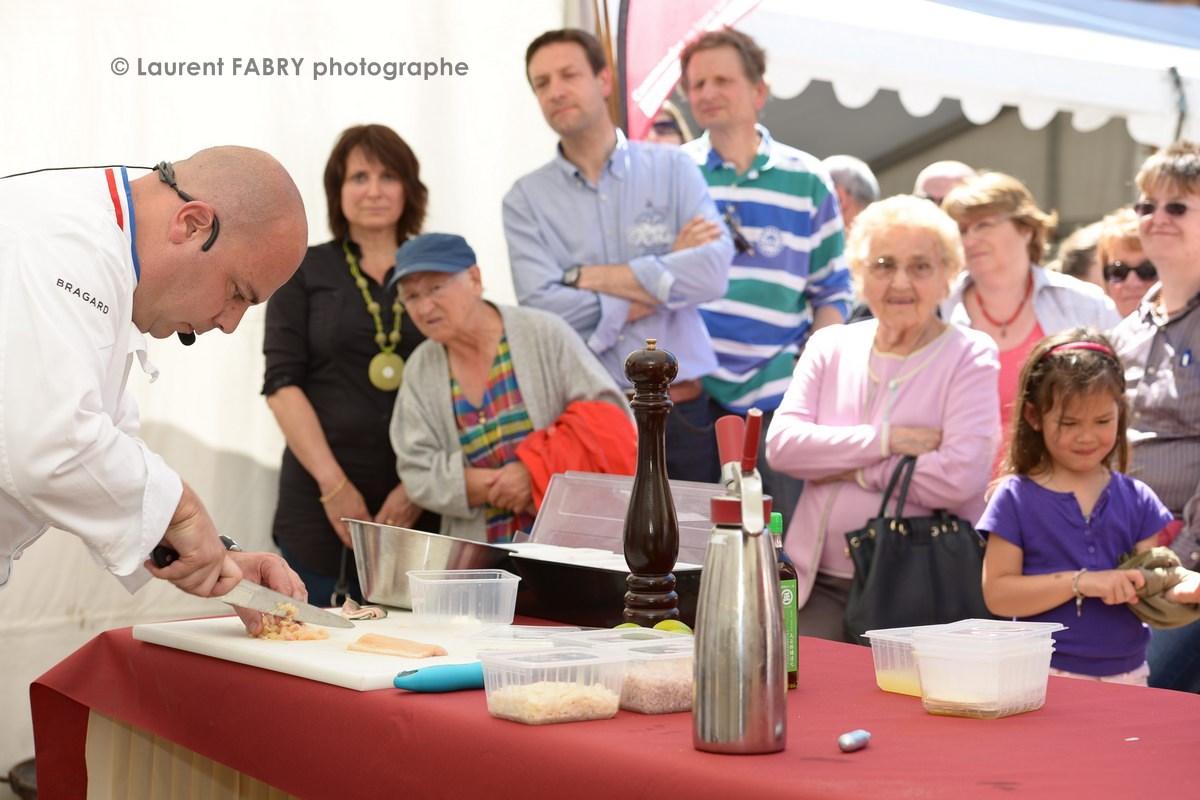 Photographe tourisme en Tarentaise : DŽémonstrations et dŽégustations par les chefs du Chabichou (Courchevel)