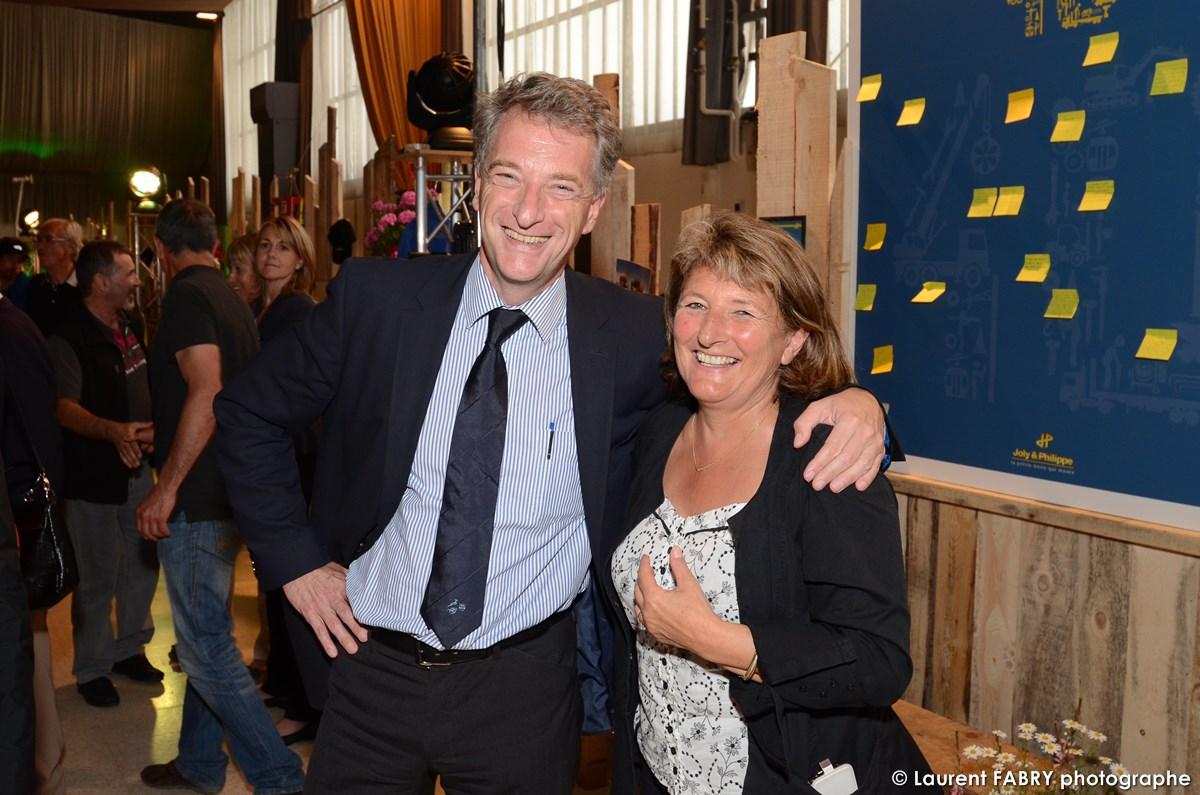 Photographe événementiel à Albertville : Monsieur Hervé Gaymard, Président Du Conseil Général De La Savoie
