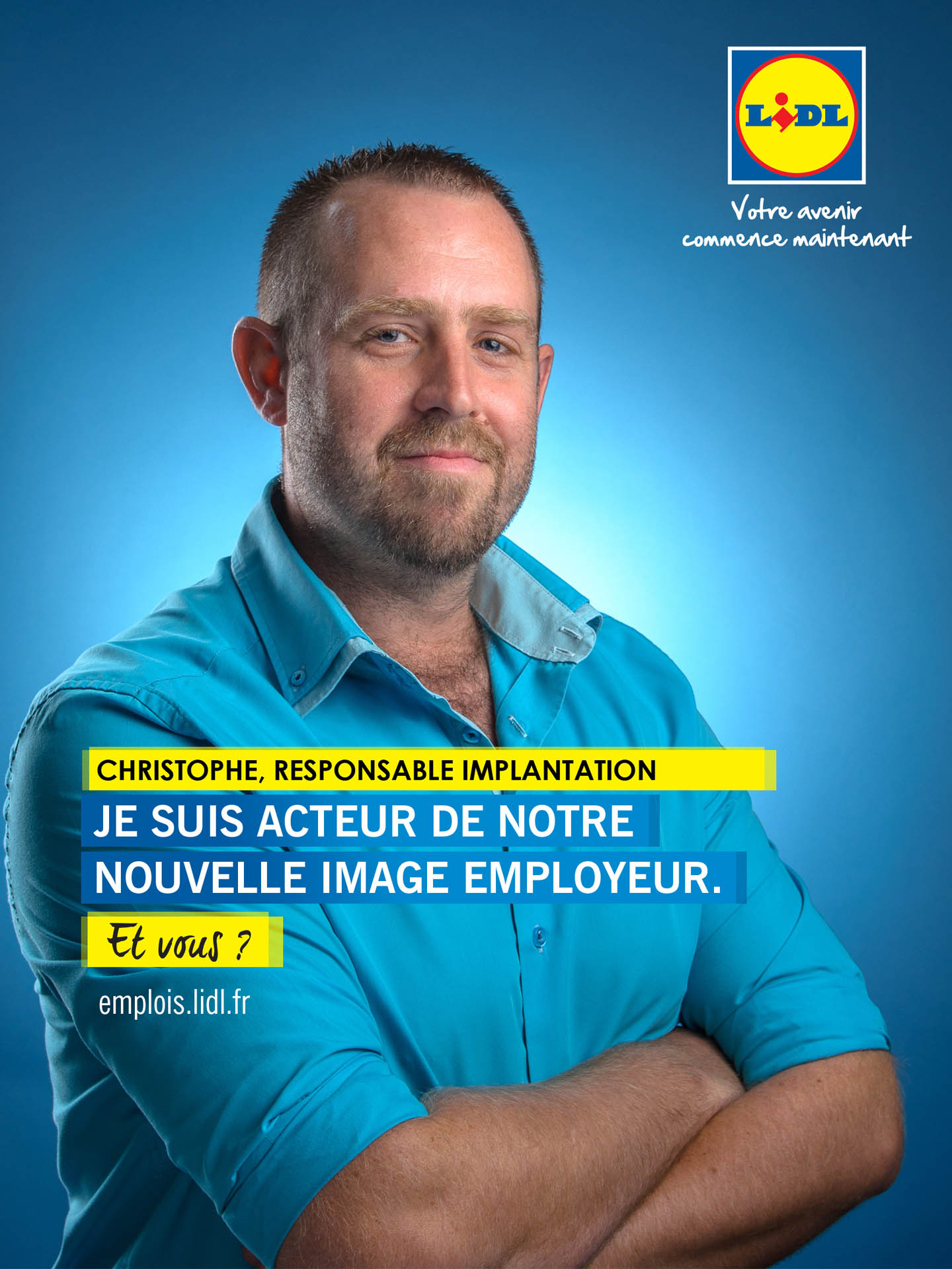 Portrait De Collaborateur