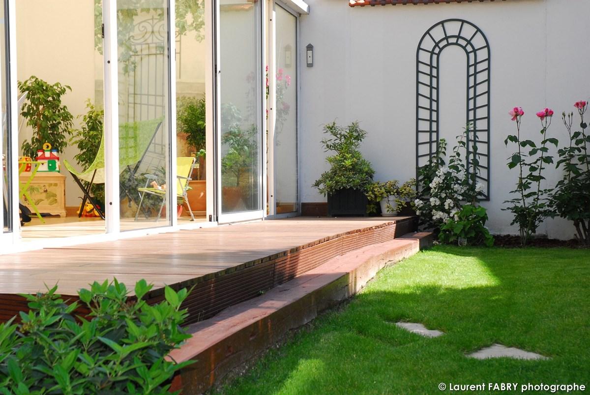 Photographe Architecte Paysagiste : La Terrasse Encadre La Verranda