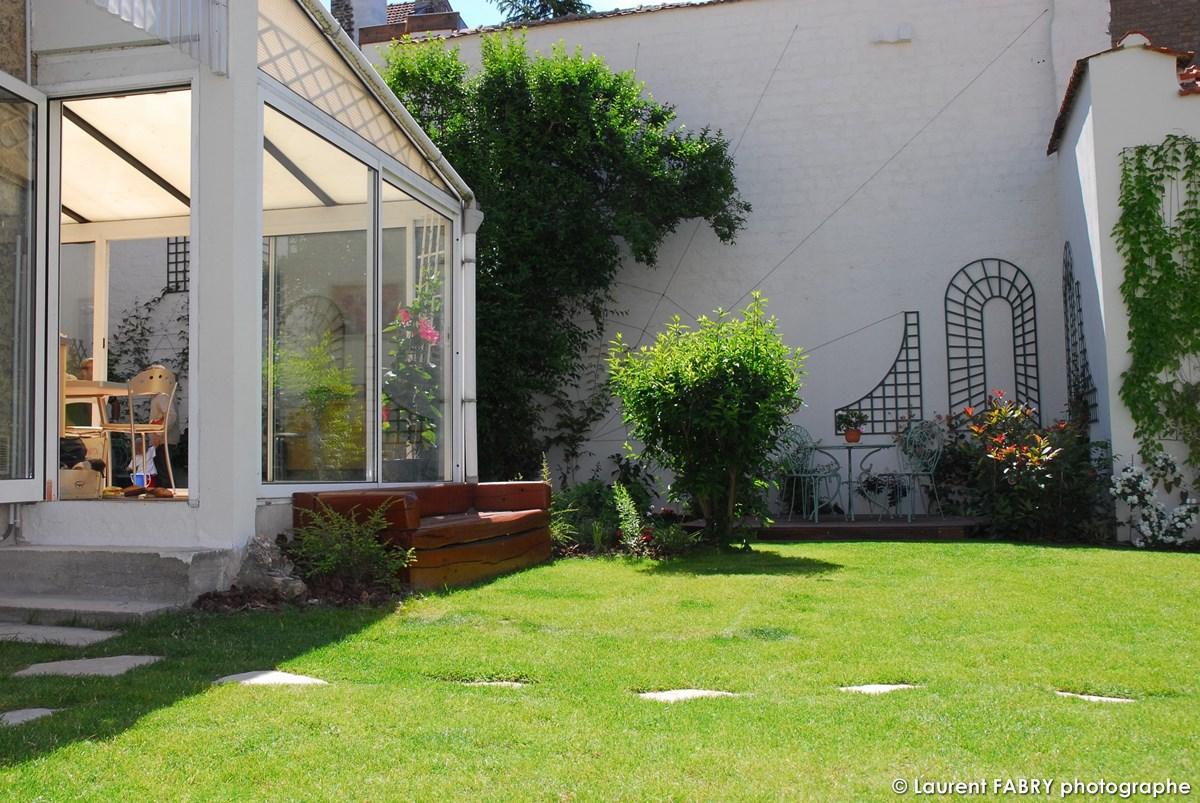 Photographe Architecte Paysagiste : Le Soleil Donne Sur Le Jardin