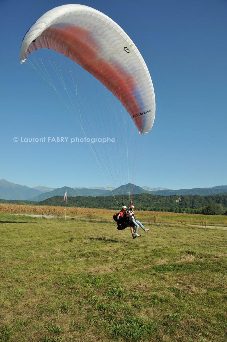 Photographe De Parapente En Combe De Savoie :