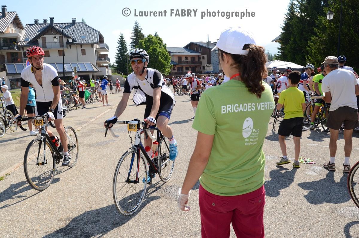 Photographe Course Cyclo Dans Les Bauges : Le Ravitaillement