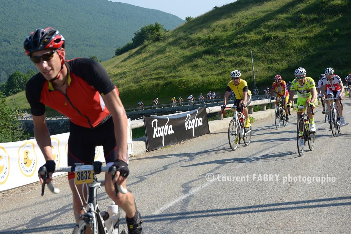 Photographe épreuve Cyclo En Bauges, Haute Savoie