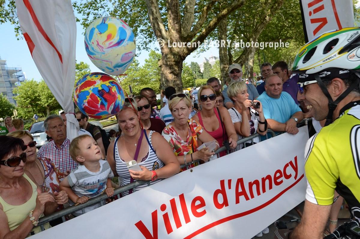 Photographe épreuve Cyclo à Annecy : Le Public