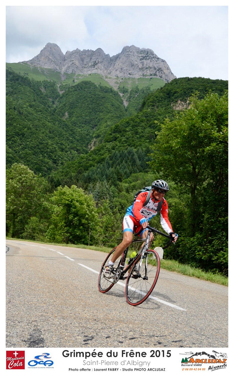 Photographe Cyclisme En Combe De Savoie : Descente De La Route Du Col Du Frâne, Saint-Pierre D'Albigny, Savoie