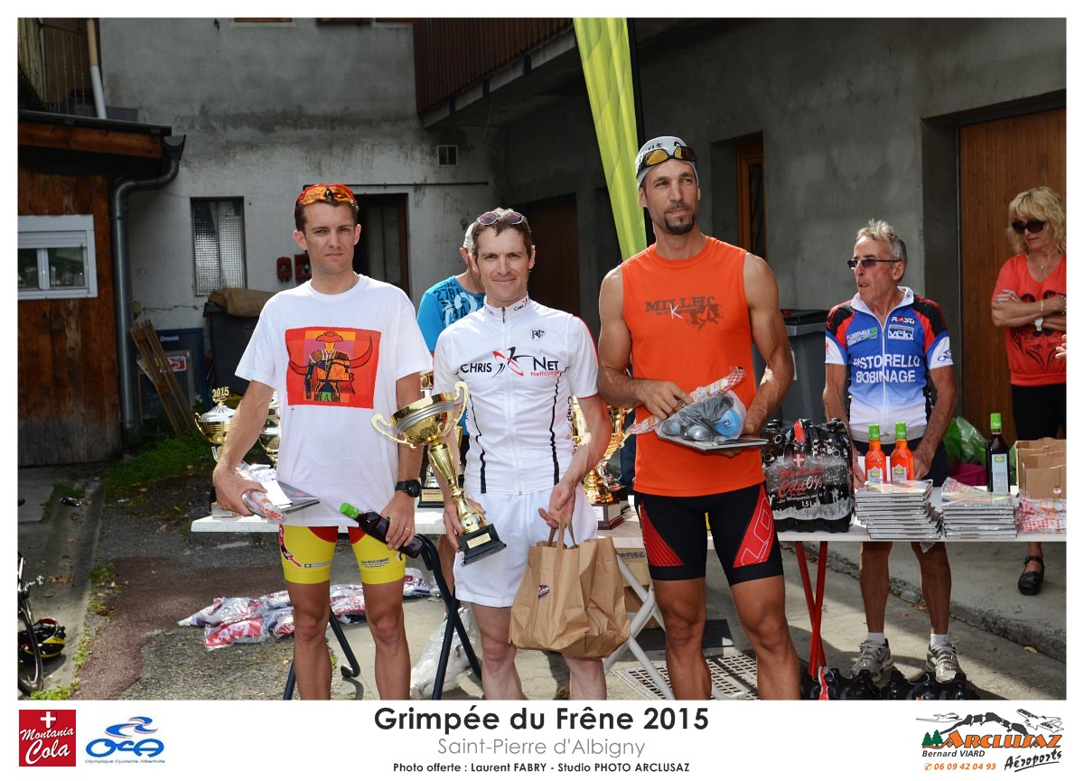 Photographe Cyclisme En Combe De Savoie : Podiums De La Grimpée Du Frêne