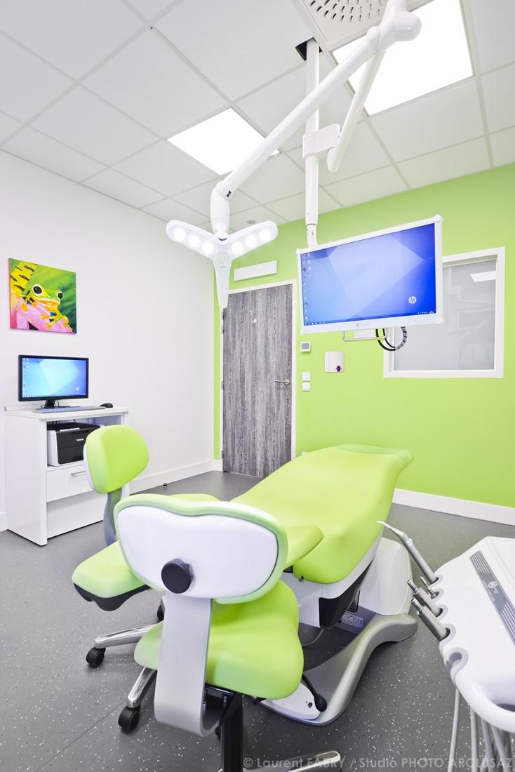 Photographe Décoration Dans Le Domaine De La Santé - Médical Pour Un Cabinet Dentaire