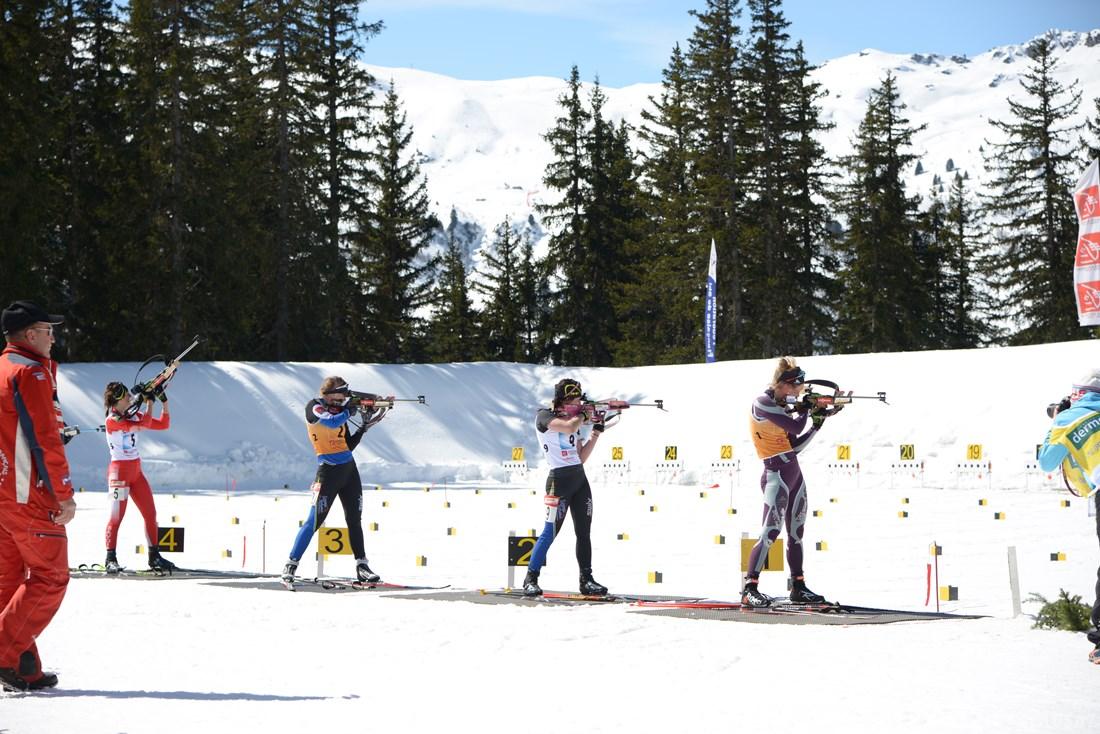 Photographe Sports De Ski Nordique En Savoie : Le Tir Au Biathlon