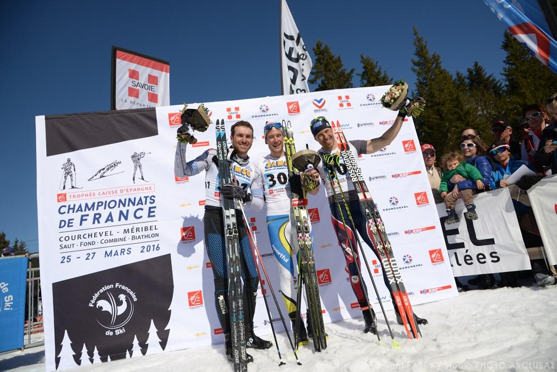 Photographe De Ski Nordique En Savoie : Un Podium D'après Course En Ski De Fond Pour Les Championnats De France