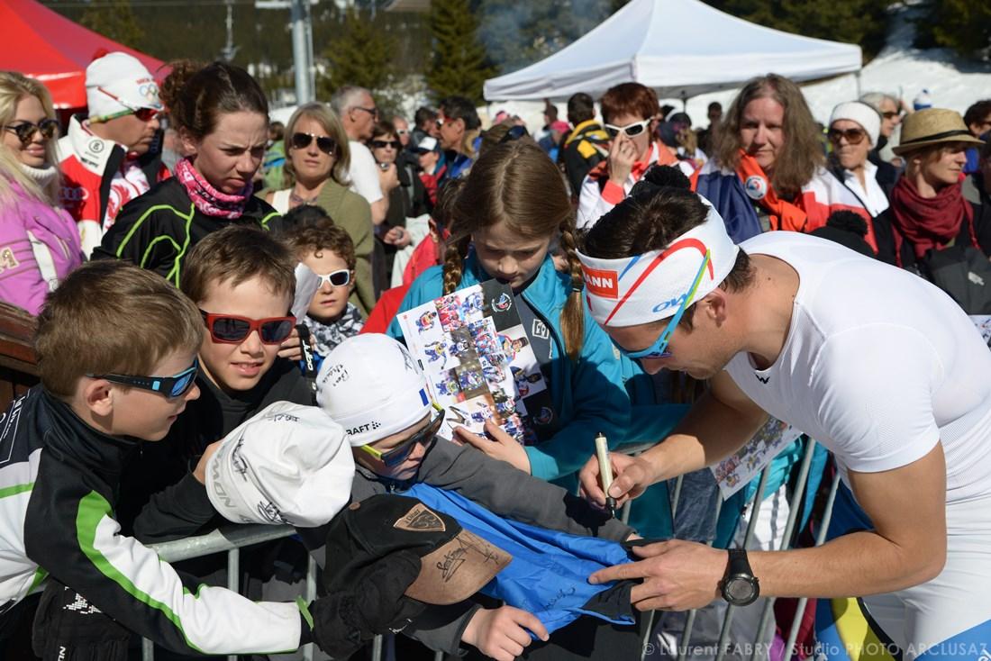 Photographe Sports De Ski Nordique En Savoie : Signatures Des Champions Pour Les Fans De Biathlon Et De Ski Nordique