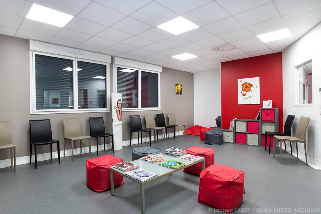 Photographe Décoration Dans Le Domaine Du Médical Pour Un Cabinet Dentaire En Savoie
