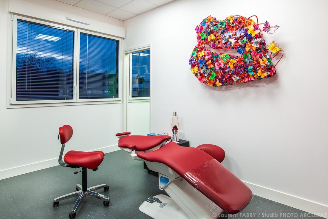 Photographe Décoration Dans Le Domaine De La Santé Pour Un établissement De Santé Dentaire