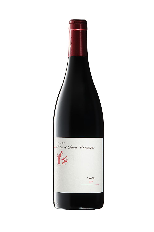 Bouteille De Vin De Savoie (Domaine Giachino) Photographiée Par Un Photographe