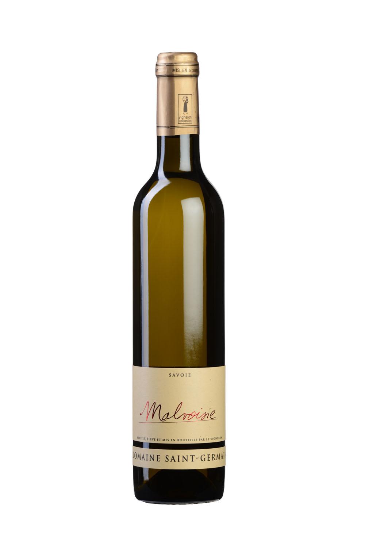 Photo D'une Bouteille De Vin De Savoie (Malvoisie) Réalisée Par Un Photographe Professionnel En Studio