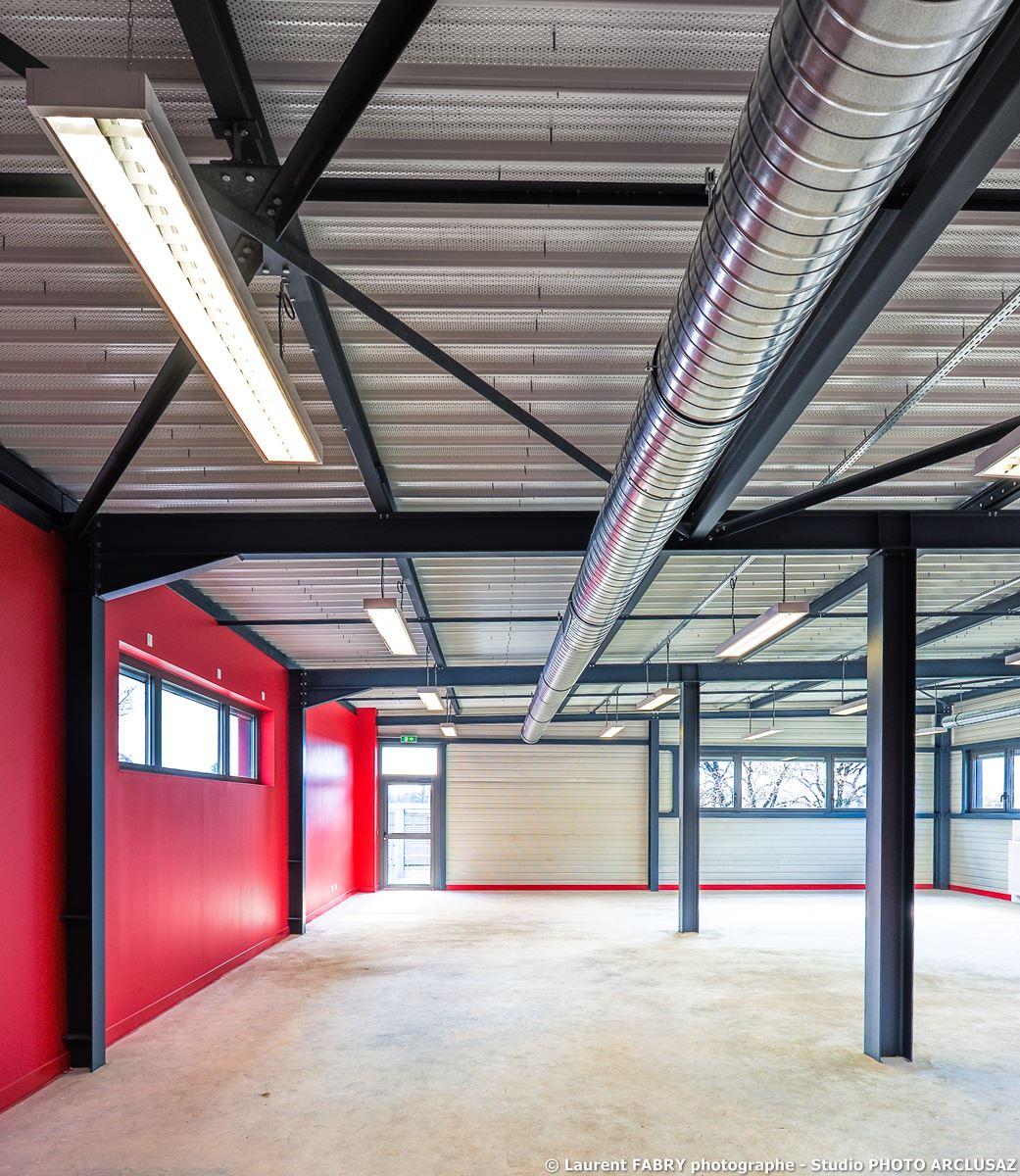 Photographe Architecture à Albertville : Dans Les étages Du CNSHN