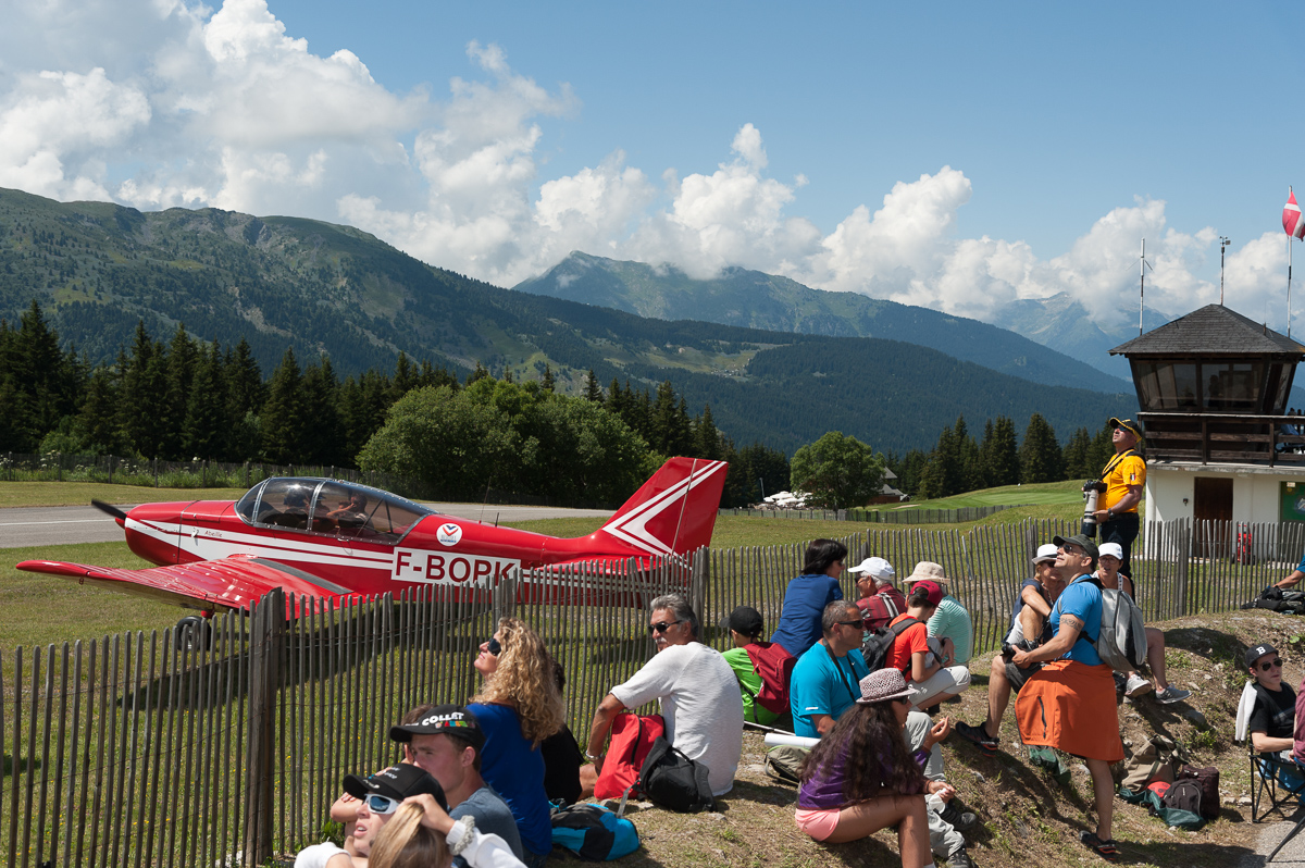 Photographe Tourisme Sur Un Meeting Aérien : Méribel Air Show 2016