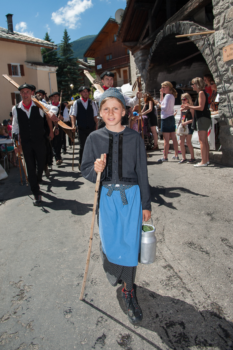 Photographe Tourisme Sur Une Fête De Village En Savoie :