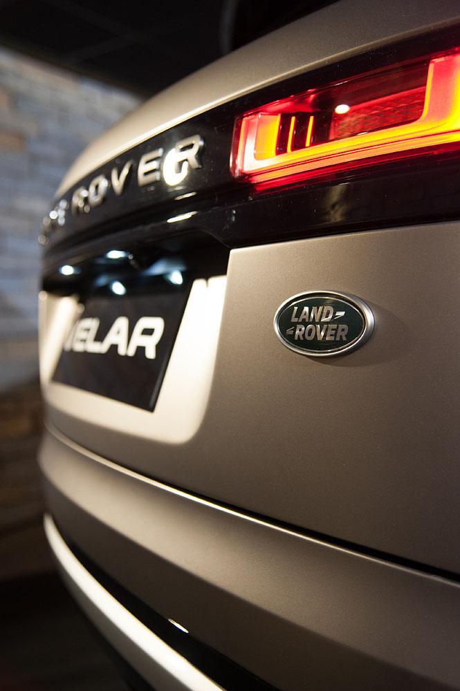 Photographe événementiel à Courchevel : Détail De La Nouvelle Land Rover