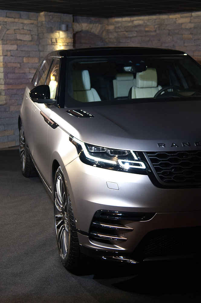 Velar Range Rover product launch organized at Lana Hotel Courchevel