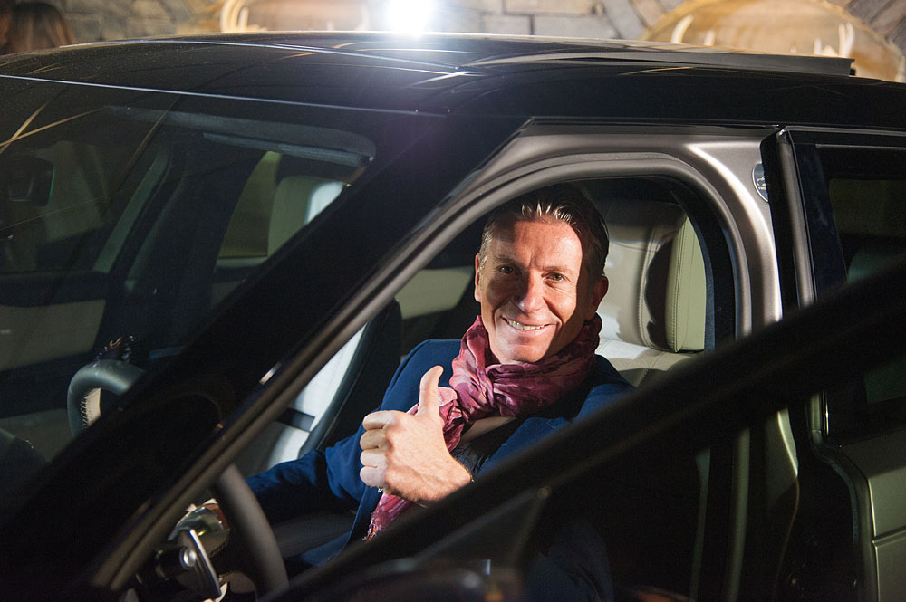 Photographe événementiel à Courchevel : Range Rover Velar Testing