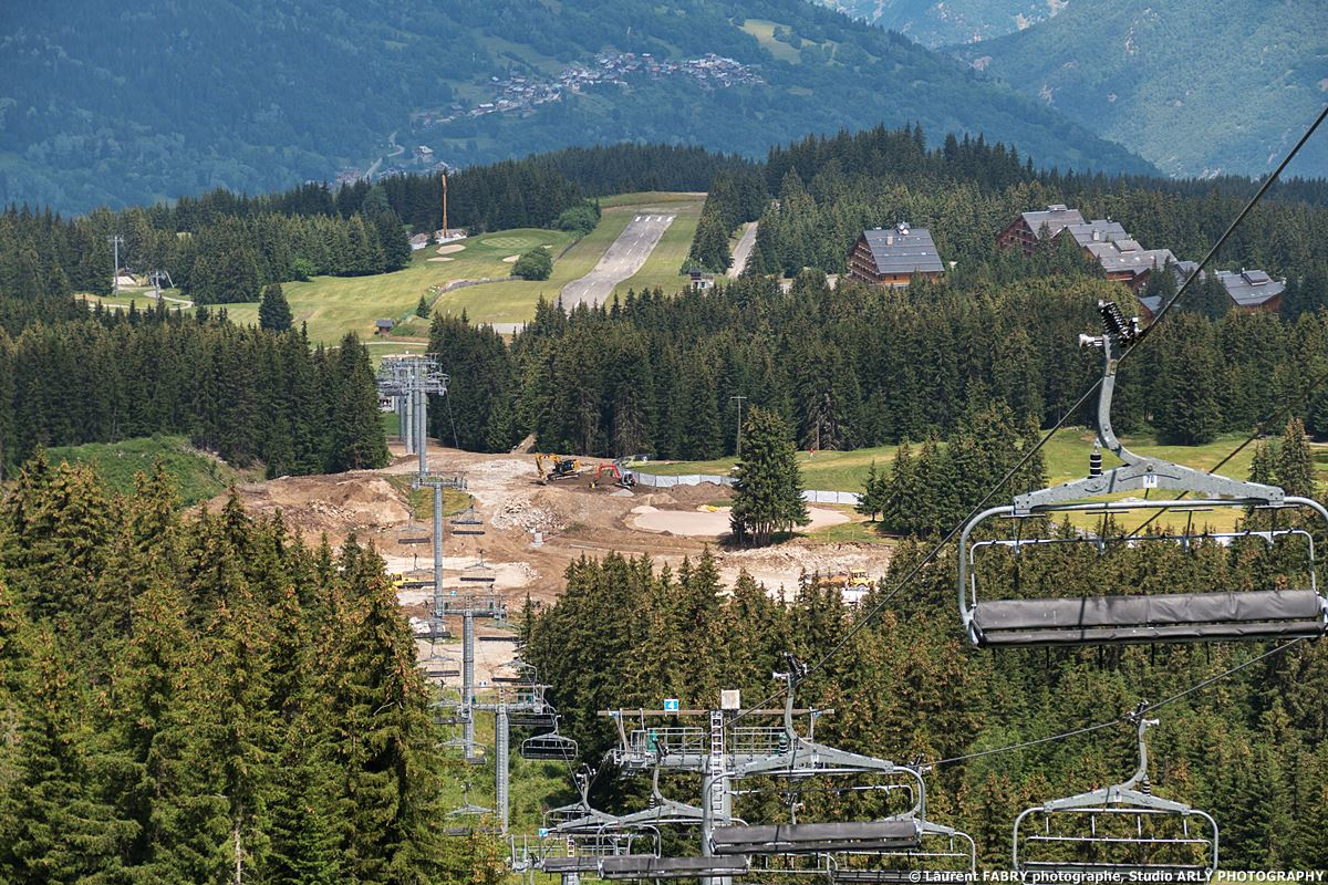 Reportage Photo Sur Un Chantier Dans Les Alpes