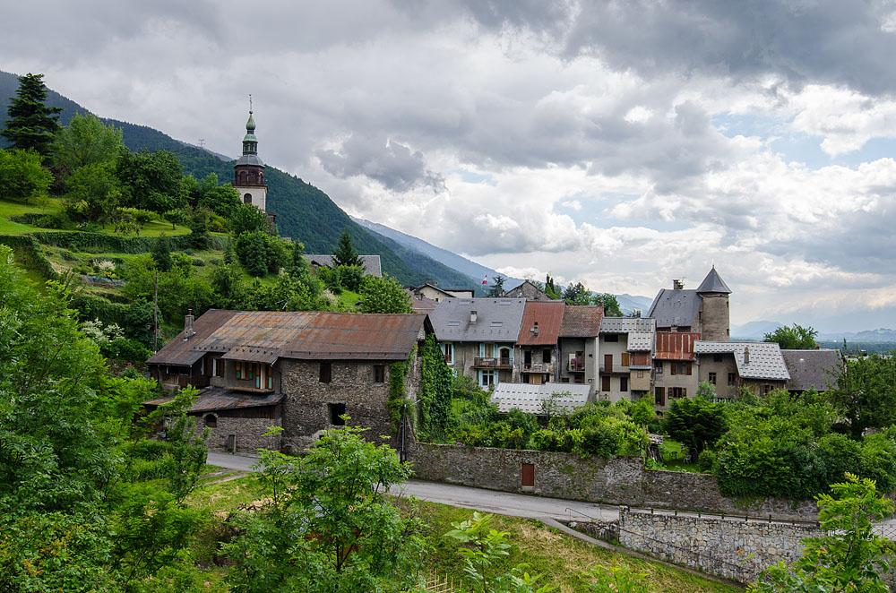 Photographe Patrimoine Et Traditions Dans Les Alpes : Cité Médiévale De Conflans