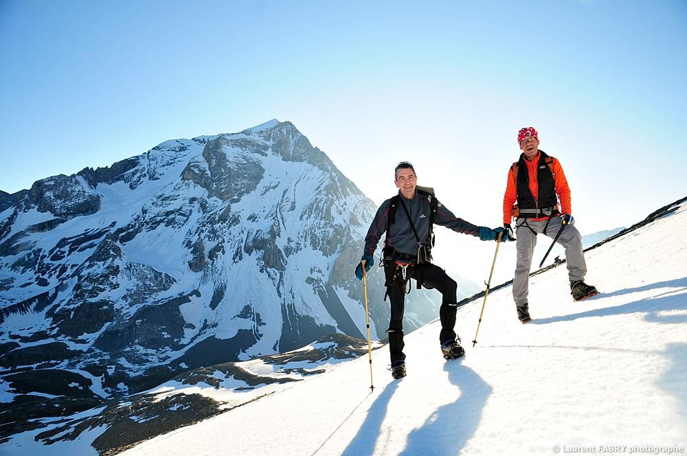 Photographe Outdoor Dans Les Alpes : Lever De Soleil Sur La Grande Casse