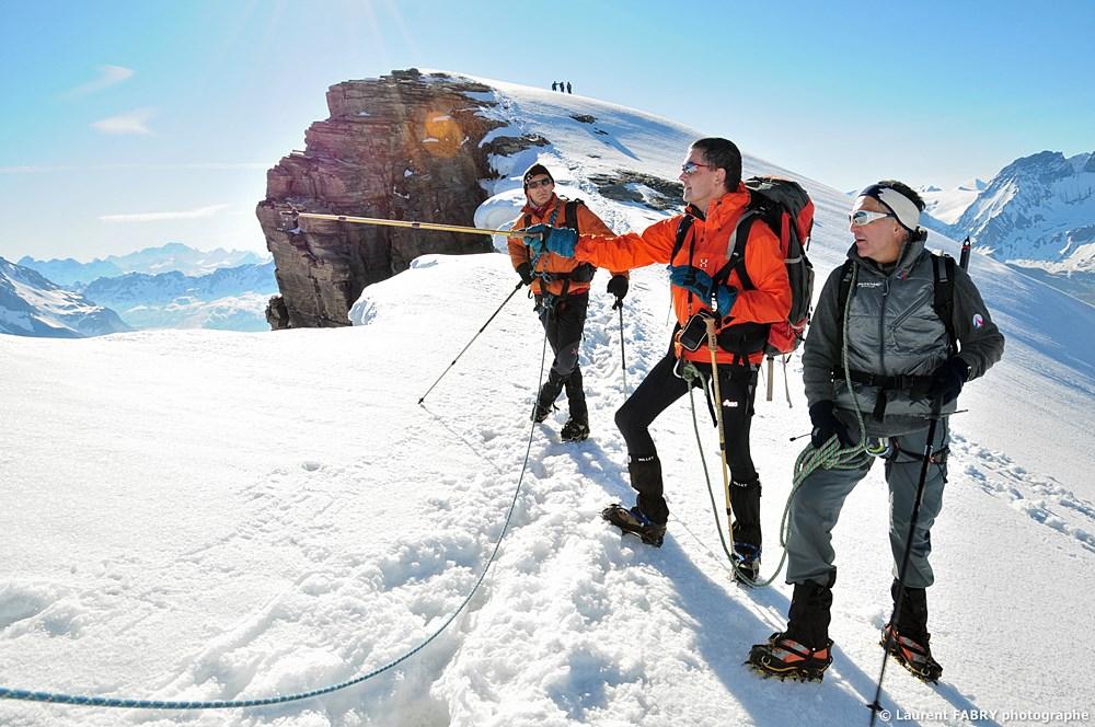 Photographe Outdoor Dans Les Alpes : Au Sommet De La Pointe De La Réchasse