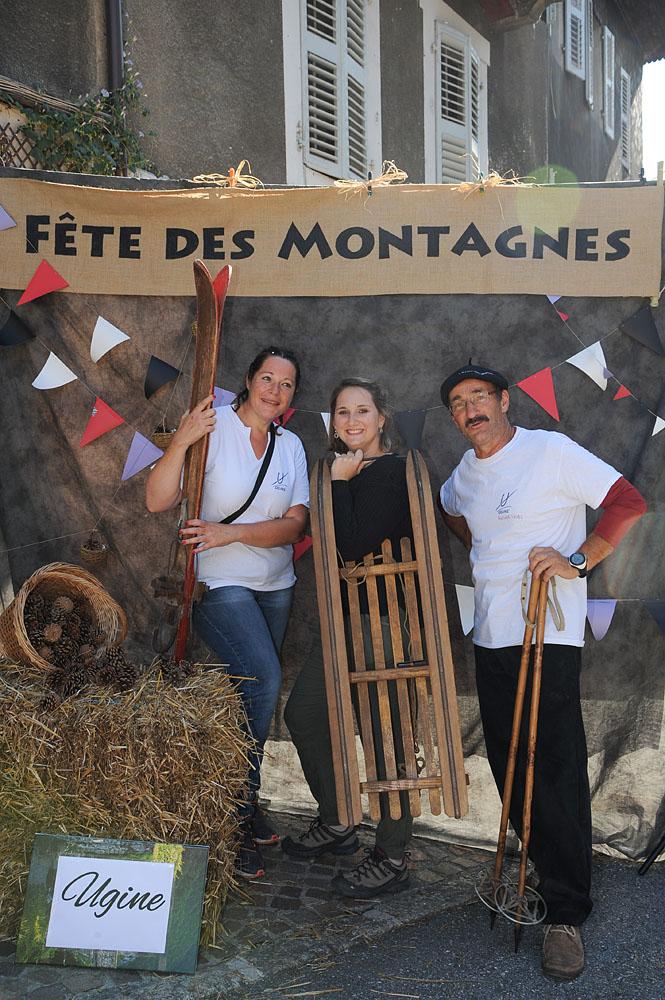 Photographe événementiel Sur Une Fête Des Montagnes Dans Les Alpes : Photobooth
