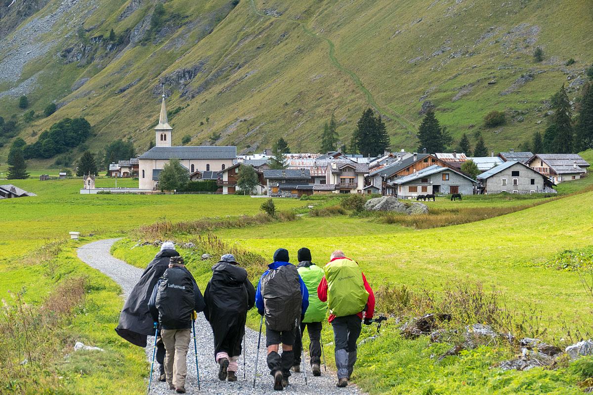 Photographe Sport De Montagne Outdoor En Vanoise : Vers Le Hameau Du Bois