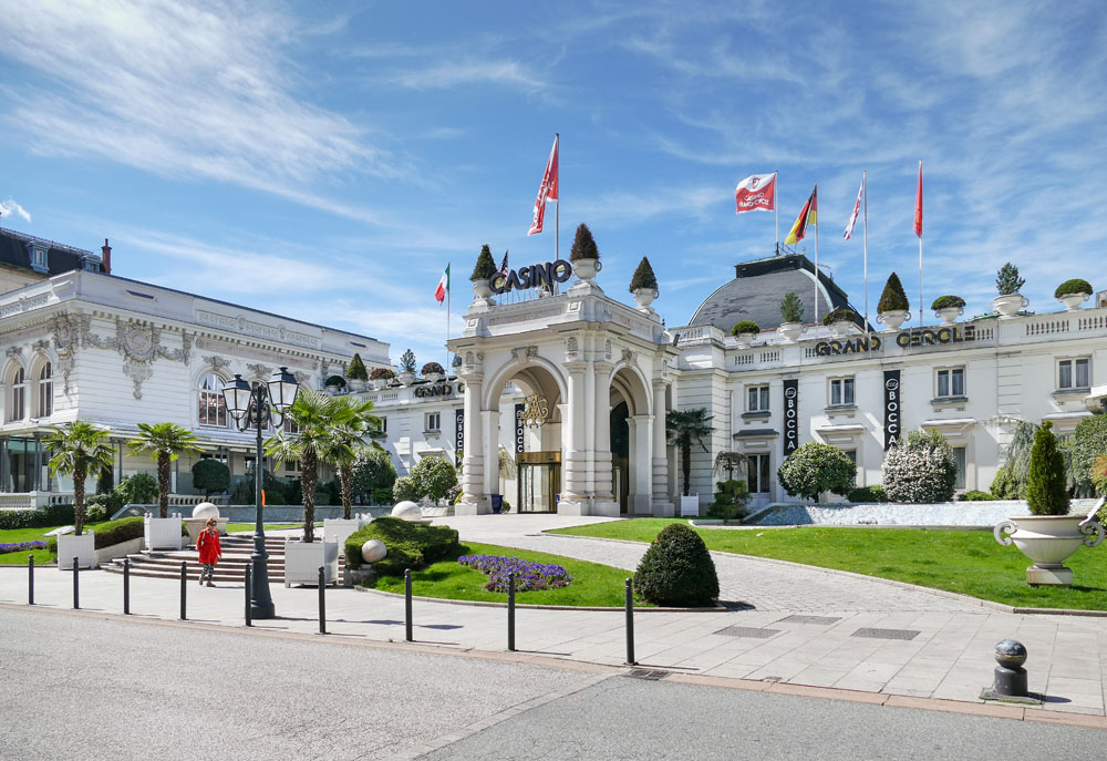 Photographe Urbanisme Pour Une Collectivité Dans Les Alpes (Aix-les-Bains) : Le Casino Grand Cercle