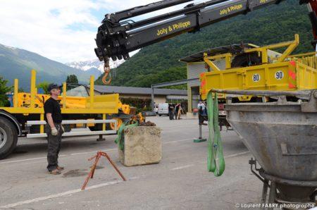 Photographe événementiel à Albertville : Engins De Construction Lors De La Journée Portes Ouvertes
