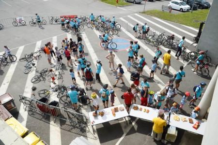 Photographe événementiel Sur Une Journée De Découverte Du Vélo à Chambéry