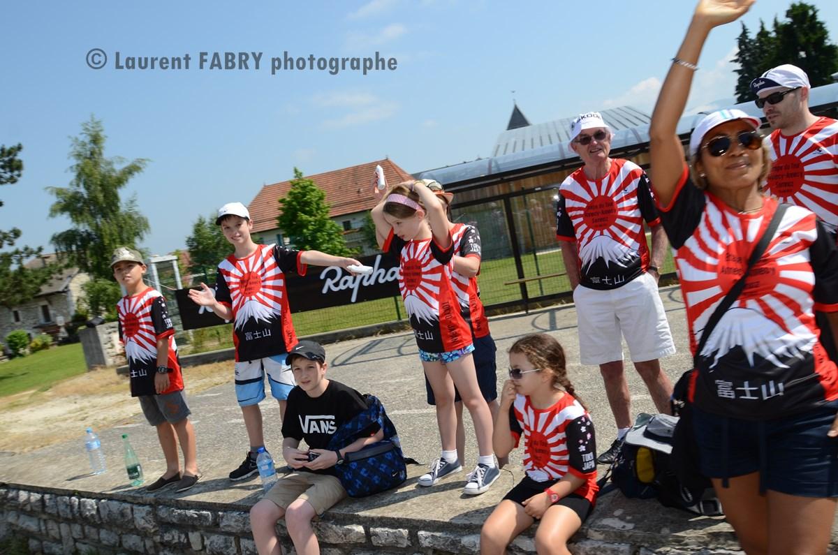 Photographe Course Cyclo En Haute Savoie : Le Public