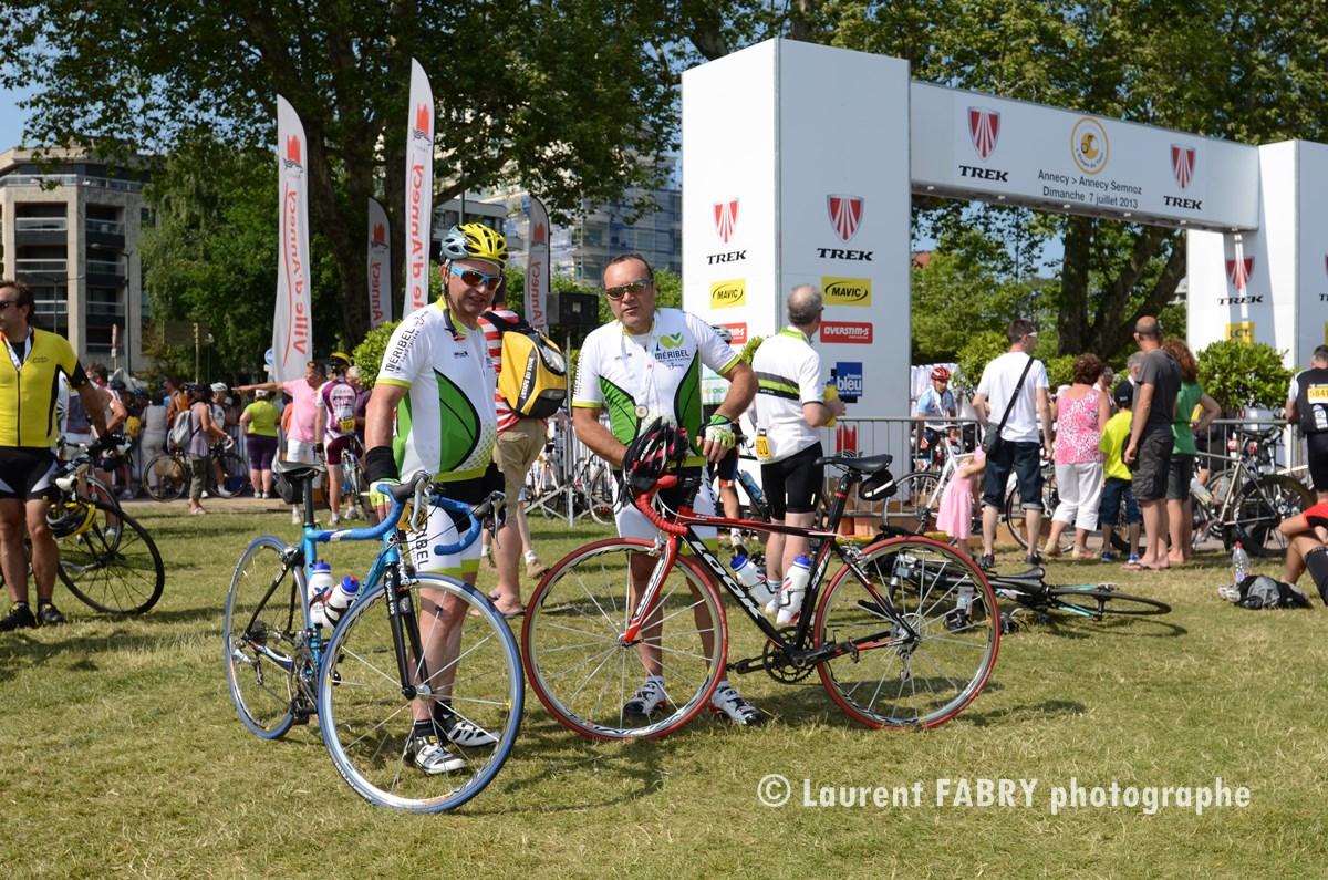 Photographe épreuve Cyclo à Annecy