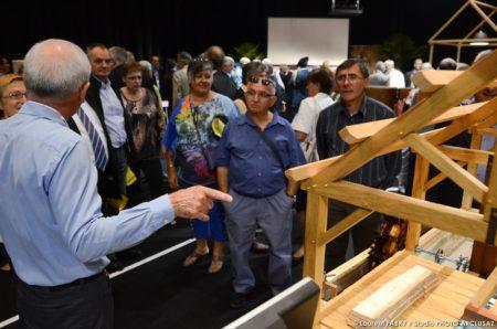 Photographe événementiel : Beaucoup De Spectateurs Sur L'exposition Des Meilleurs Ouvriers De France à La Foire De Savoie