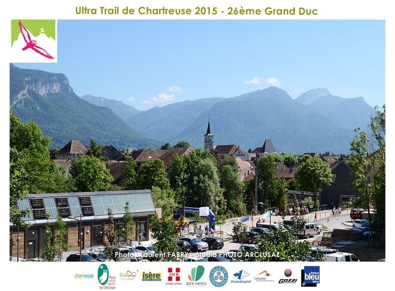 Photographe De Trail En Chartreuse : La Base Des Echelles, Lieu De L'arrivée De Cette édition Du Trail Du Grand Duc De Chartreuse