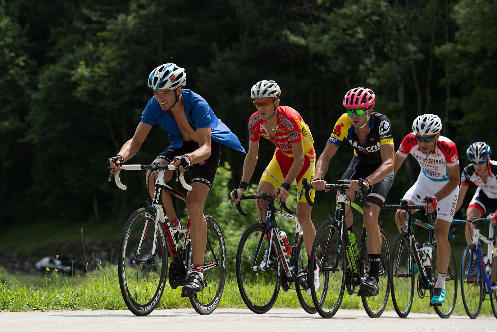 Photographe Cyclisme En Combe De Savoie : Sur Une Course Cyclo En Savoie