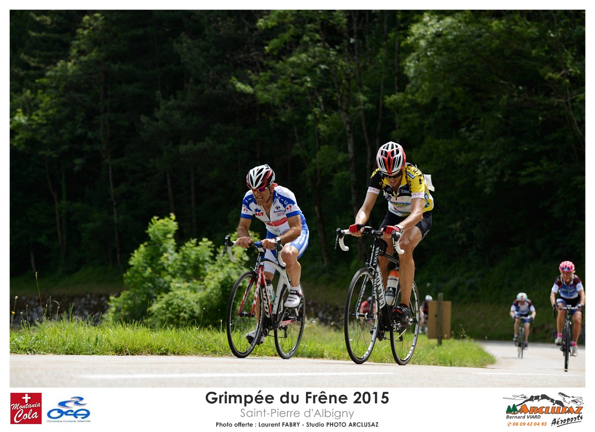 Photographe Cyclisme En Combe De Savoie : On Se Tire La Bourre En Vélo Sur La Grimpée Du Frêne à Saint-Pierre D'Albigny