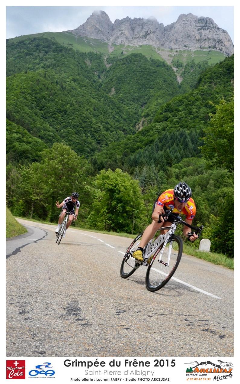 Photographe Cyclisme En Combe De Savoie : Decsente à Vélo Après La Grimpée Du Frêne, En Combe De Savoie