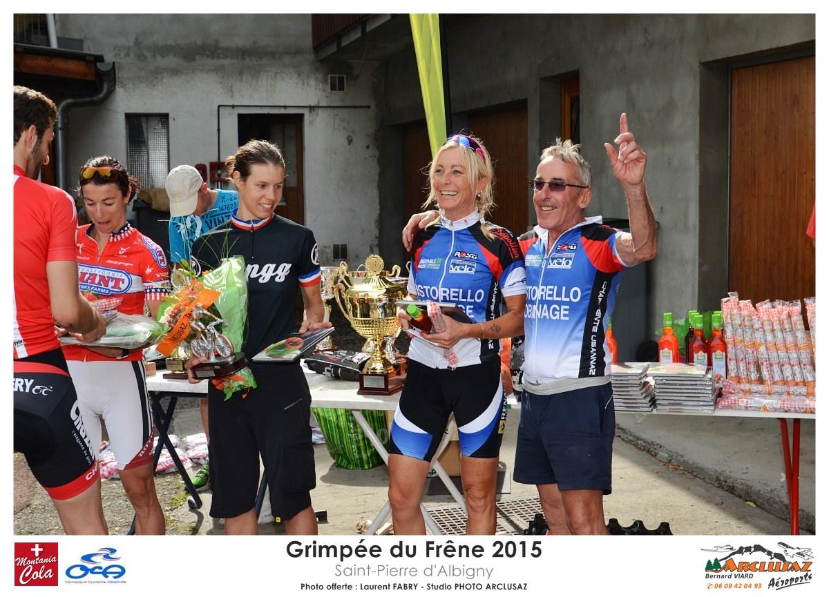 Photographe Cyclisme En Combe De Savoie : Les Coureurs De Le Grimpée Du Frêne à La Remise Des Prix, Combe De Savoie