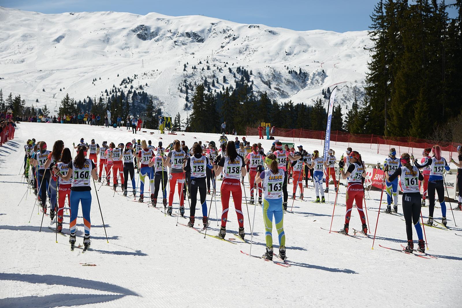 Photographe de ski nordique en Savoie