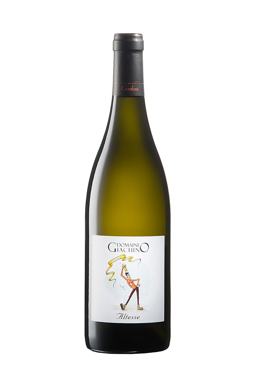 Photo De Bouteille De Vin De Savoie (blanc) Réalisée En Studio