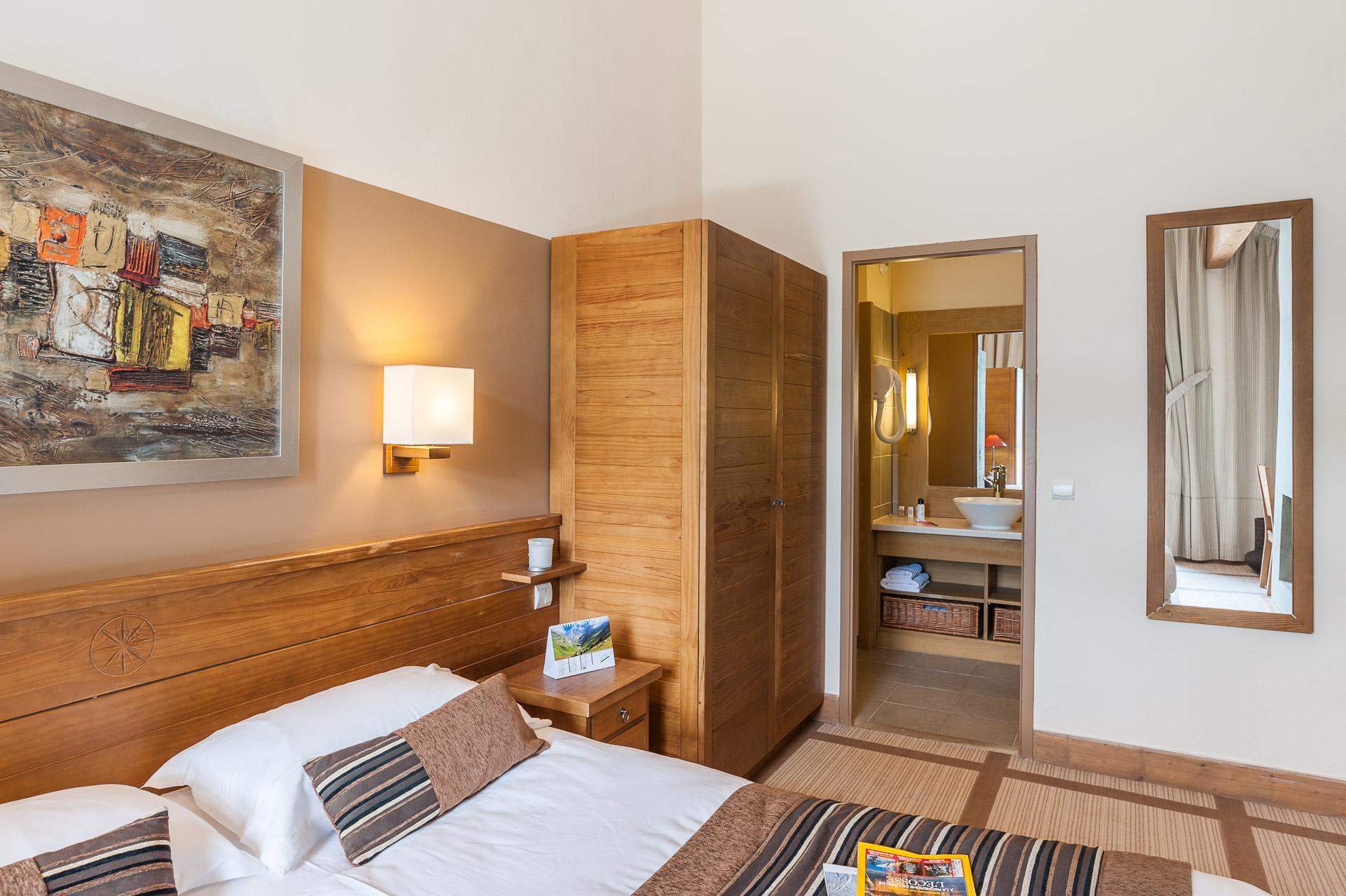 Photographe Immobilier Pour Le Tourisme En Savoie : Chambre Premium