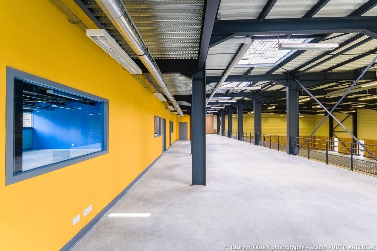 Photographe Architecture à Albertville : Chantier De La FFS, Ville D'Albertville Et La SAS