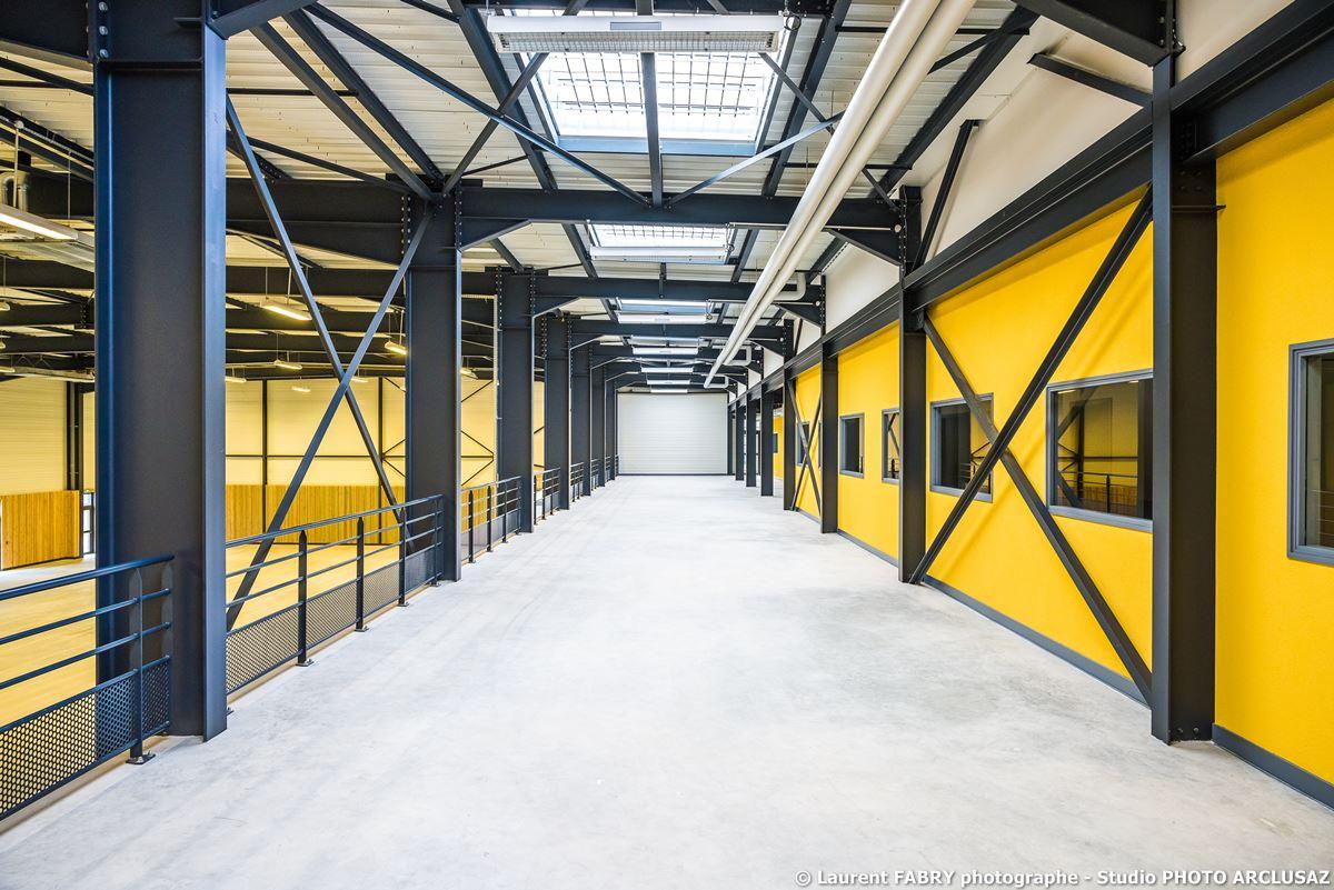 Photographe Architecture à Albertville : La Piste D'athél Intérieure Du CNSHN