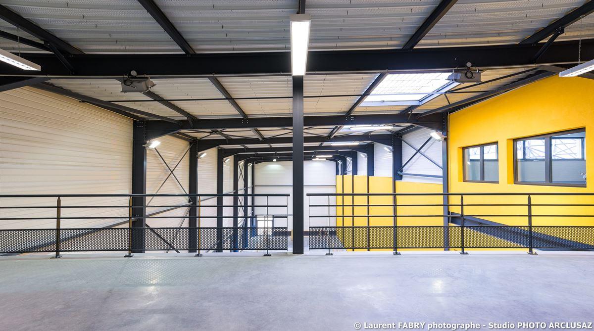 Photographe Architecture à Albertville : Photos Professionnelles Du CSNHN à Albertville