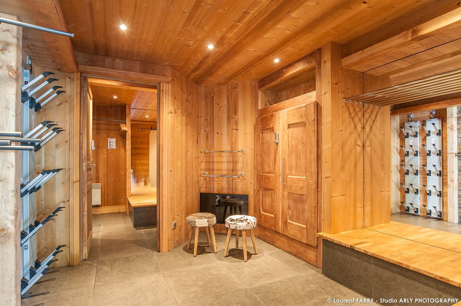 Photographe Chalets De Montagne à Méribel (3 Vallées) : Ski Room