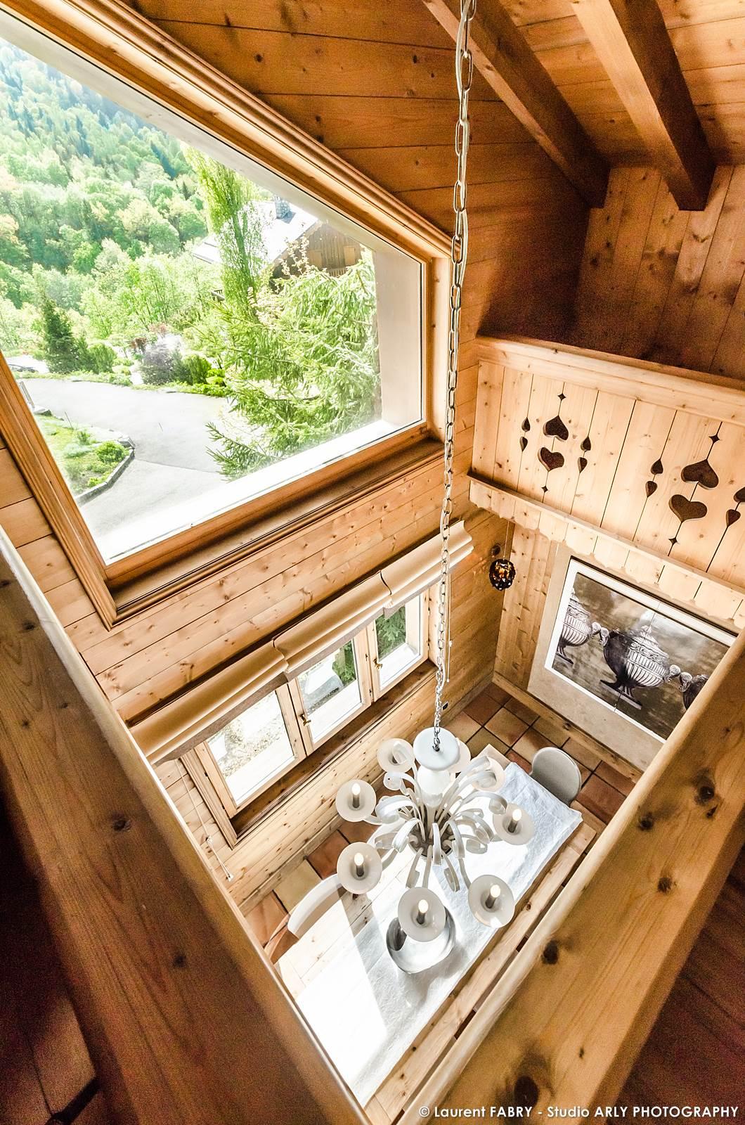 Photographe Chalets De Montagne à Méribel (3 Vallées) : Mezzanine